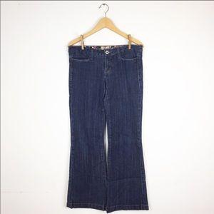 MISS ME Dark Wash Wide Leg Jean JP4508L 29